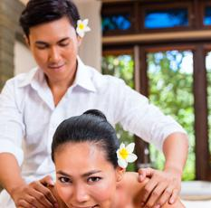 Male Therapist in Bali Spa