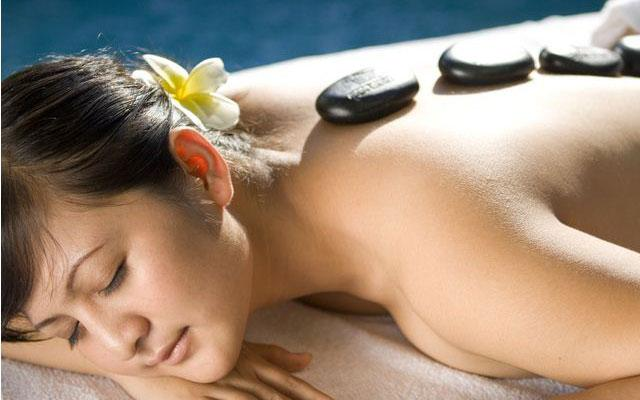 Sanur Spa - Abian Srama Hotel-Spa : Hot Stone Massage