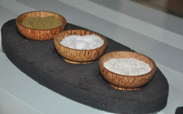 Spa Kuta - Angel's Heaven Spa : salt scrub