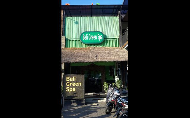 Bali Green Spa Kuta - View from the outside