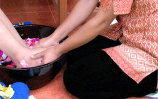 Bali Green Spa Kuta - Aromathic Foot Wash