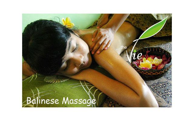 Spa Seminyak - The Vie Spa : balinese massage