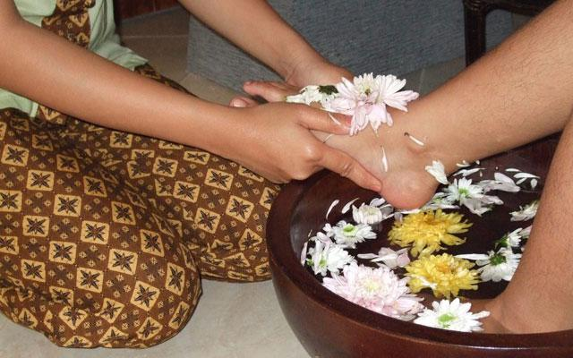 Spa Bali-Body Arum Bali Spa-Foot Bath