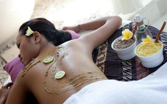 Spa Nusa dua - Royal Balinese Spa : body scrub