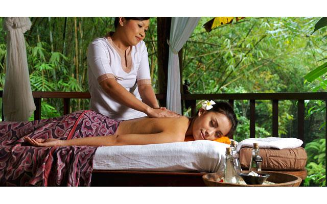 Spa Ubud - Komaneka Bisma Spa - body treatment