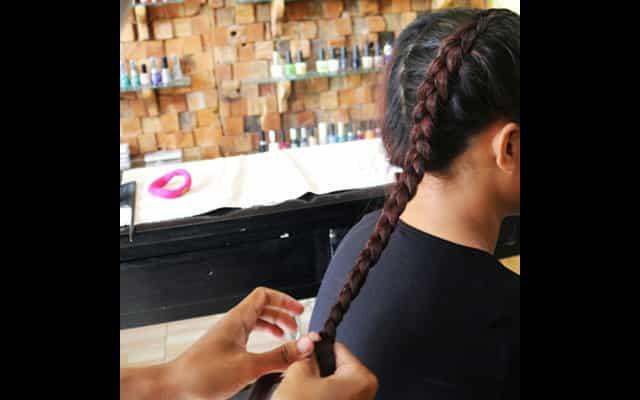 Moxx Spa - Hair Braiding - Seminyak
