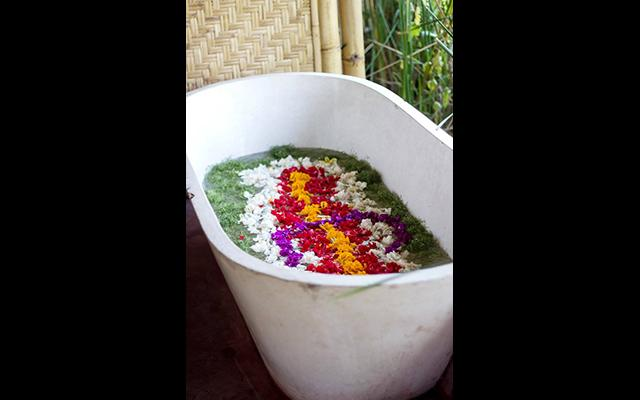 Carik Spa Ubud - First Turkish Bath in Bali - Flower Bath