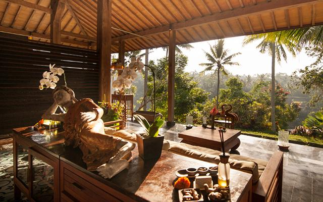 Chapung Se Bali - Spa Treatment Room - Beautiful View