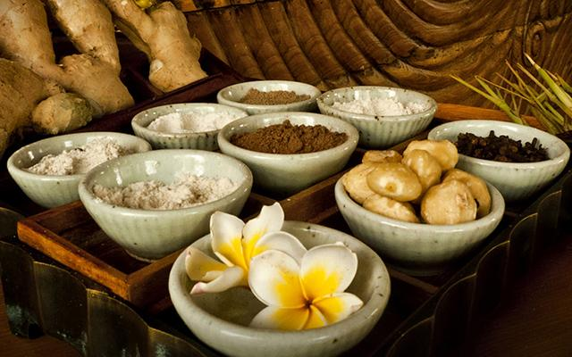 Chapung Se Bali - Spa - Herbal Ingredients