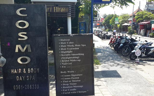 Sanur Spa - Cosmo Salon and Spa : Sign
