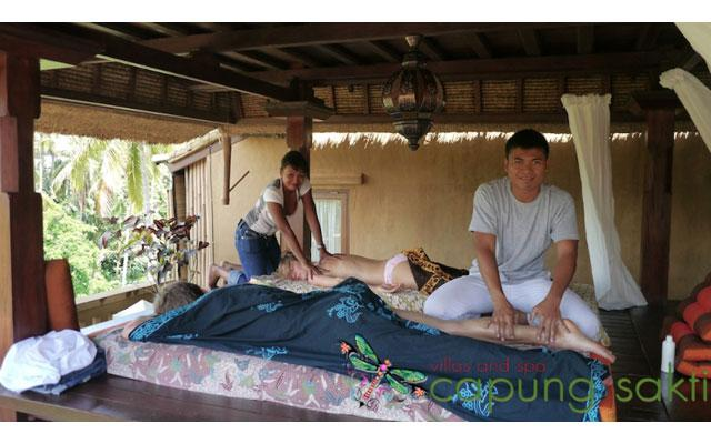 Ubud Spa - Couple Massage at Capung Sakti Spa