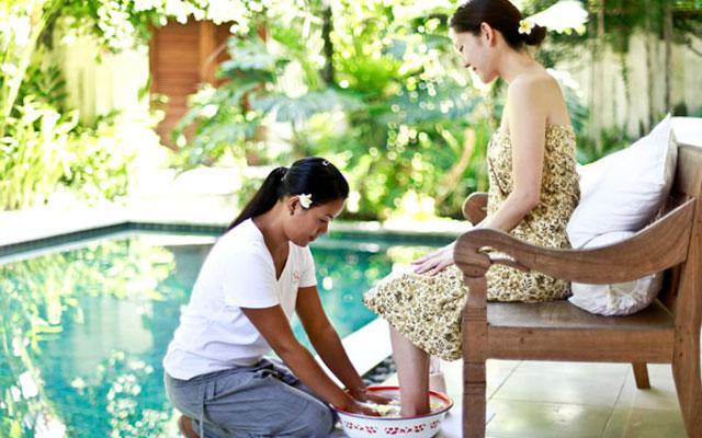 Ubud Spa - De Ubud Resort & Spa - Foot Bath