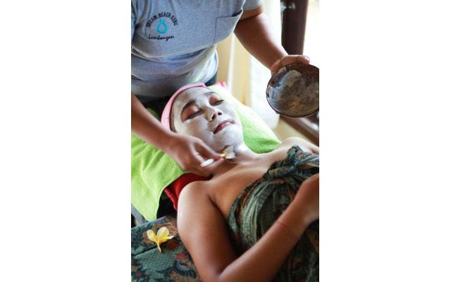 Spa Bali Lembongan - Dream Beach Kubu - Facial
