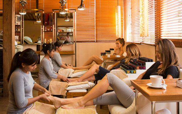 Spa Canggu - Esthetic Day Spa : foot treatment