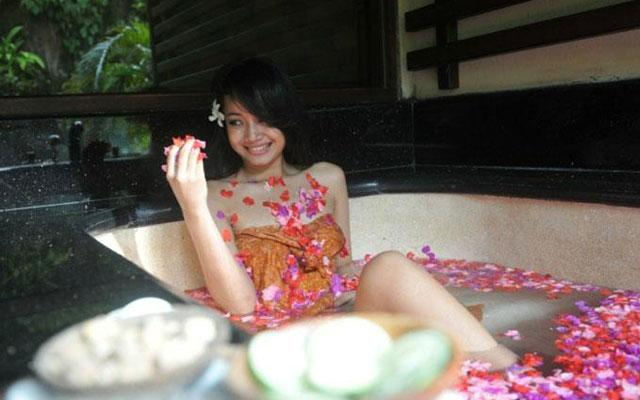 Flower Bath - Dreamland Spa, Ungasan Bali