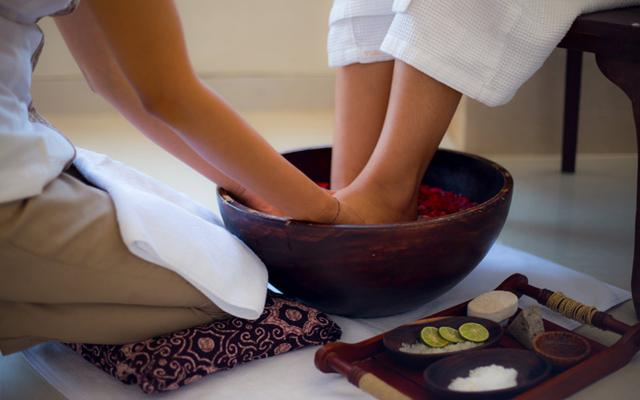 Spa Legian - Praba Spa : foot bath