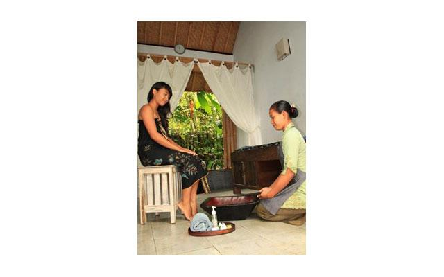 Spa Bali-Ubud Wellness Spa-Foot Bath