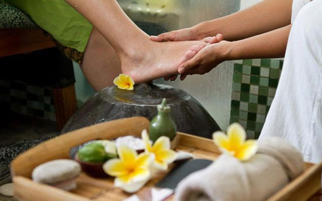 Foot Bath - Spa at Rama Garden Hotel Legian