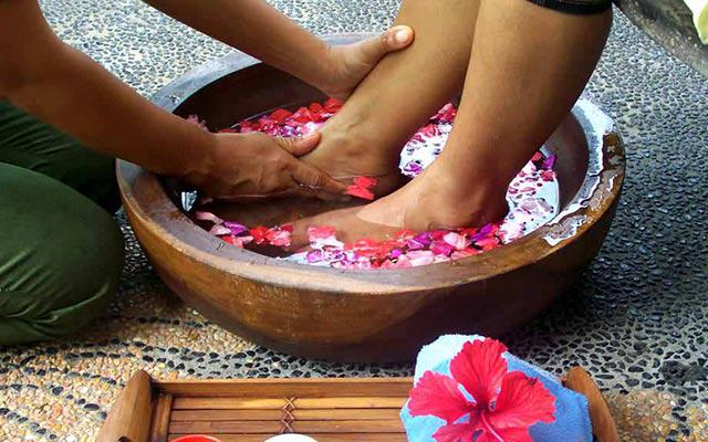 Candi Dasa Spa - Andre Spa : Foot Massage