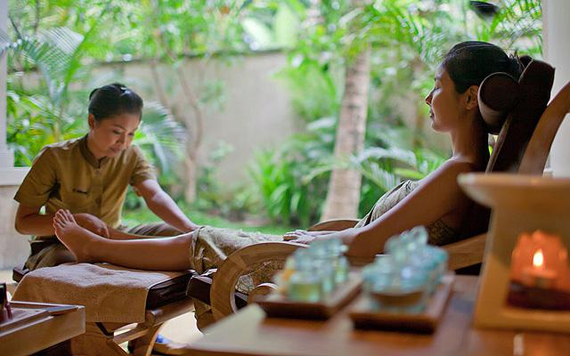 Foot Massage - The Beji Spa Ubud