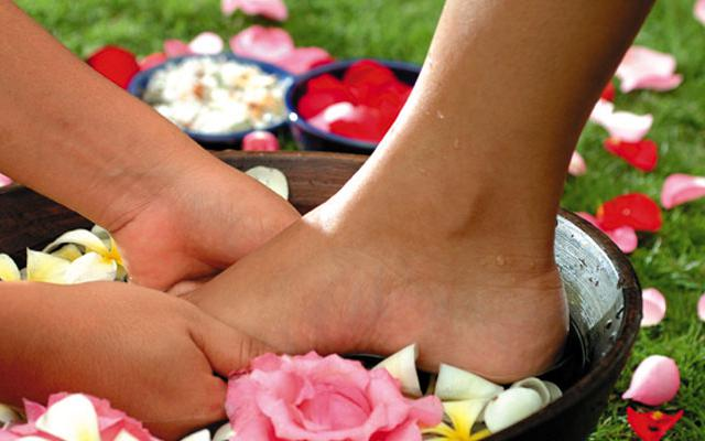 Spa Ubud - Tropical Spa : foot massage