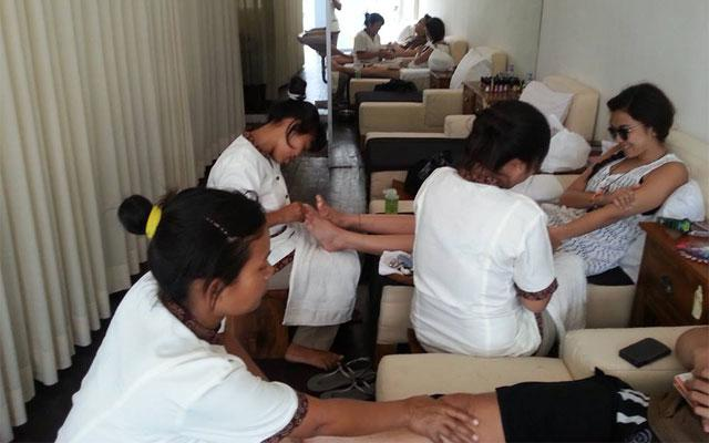 Spa Seminyak - Jiva Spa Bali : foot treatment