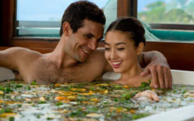 Spa Bali - Thermes Marins Spa : fruit bath