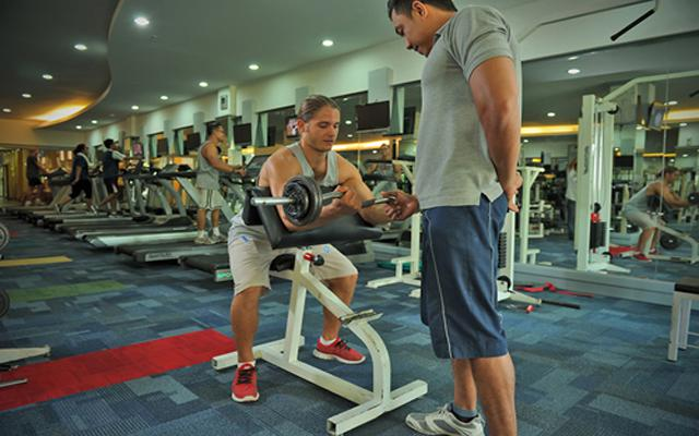 Spa Sanur - Paradise Spa : gym