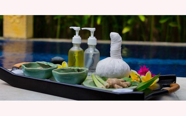 Herbal and Massage Oils - Cleo Spa Seminyak, Bali