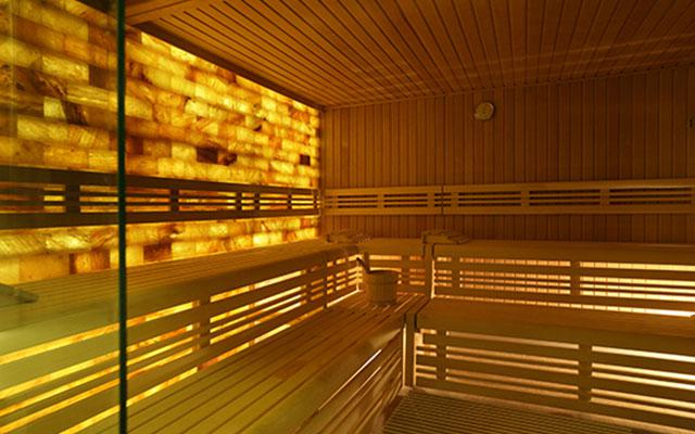 Bali Spa - Himalayan Salt Wall Sauna at Heavenly Spa, Westin Hotel