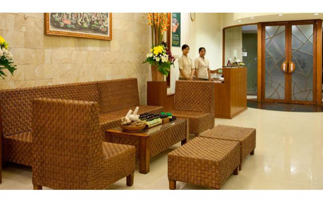 Spa Kuta - Jasmine Aromatic House : spa lobby