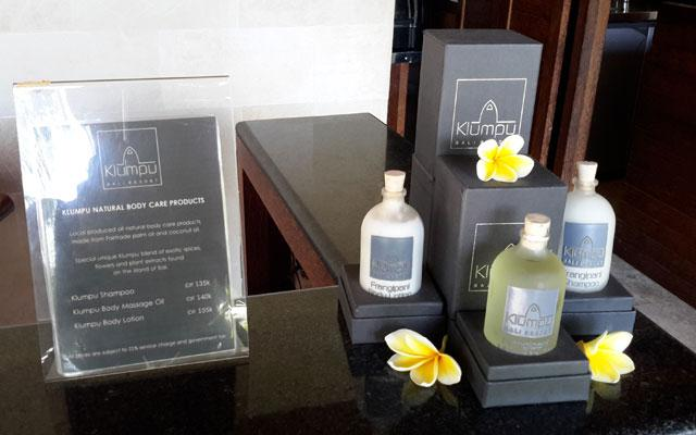 Sanur Spa - Klumpu Spa : Product