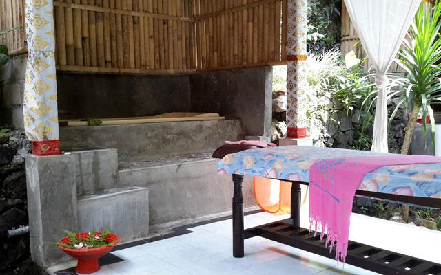 Spa Ubud - Lila Cita Spa : massage gazebo