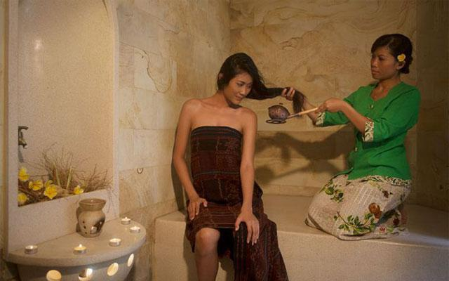 Spa Seminyak - Eastern Garden : hair treatment