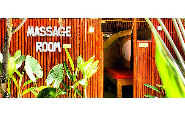 Massage Room - Serenity Eco Guesthouse - Canggu, Bali