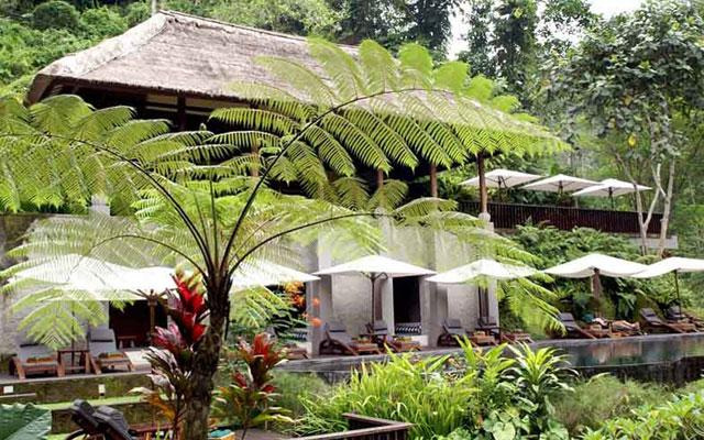 Maya Ubud Spa - View from outside