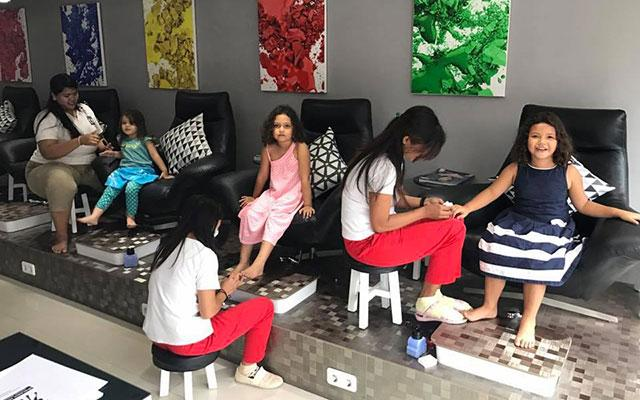 Nail Bar Bali Kids Pedicure