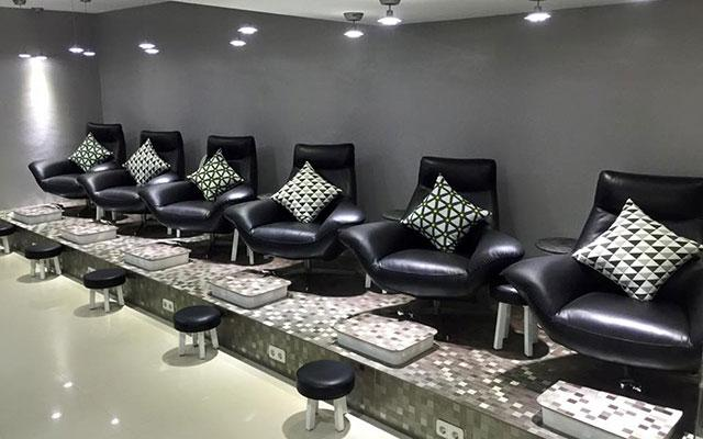 Nail Bar Bali Pedicure Area