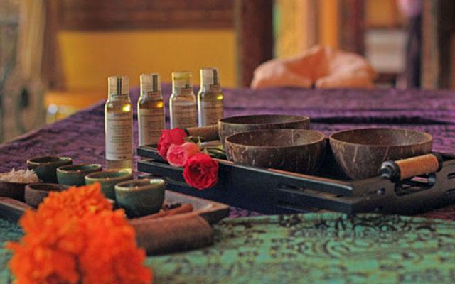 Spa Ubud - Narasoma Spa : oils scrub