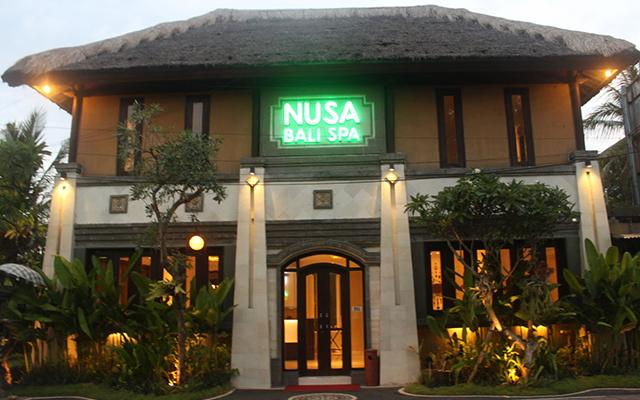 Nusa Bali Spa - Luxury Spa in Nusa Dua - Front View