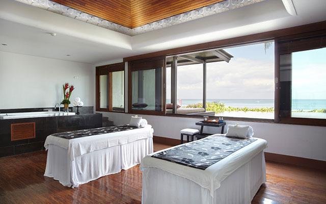 Spa Bali - Spa at Samaya Seminyak : ocean view spa room