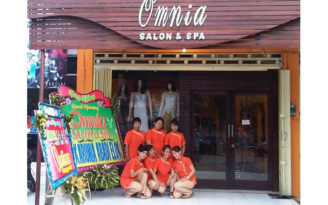 Spa in Denpasar - Omnia Salon and Spa - Front View