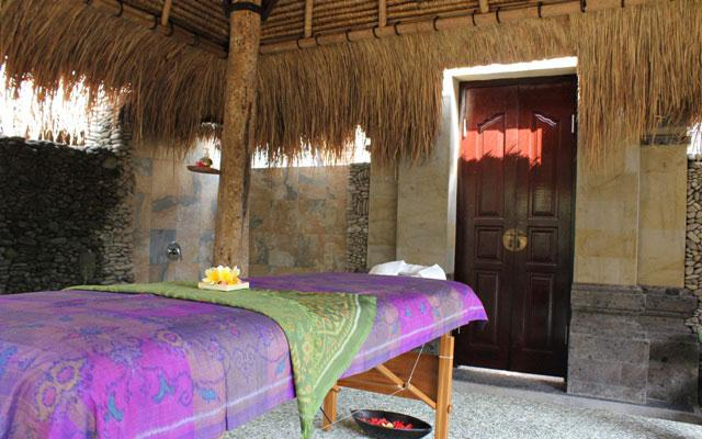 Ubud Spa - Karsa Spa : Open Air Spa Room