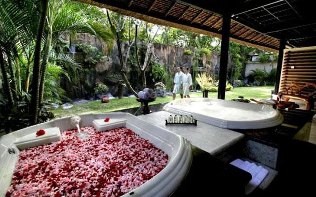 Open Air Treatment Pavilion - Dreamland Spa, Ungasan Bali