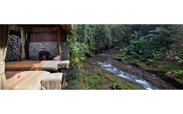 Ubud Spa - Tjampuhan Spa : Open Air Treatment