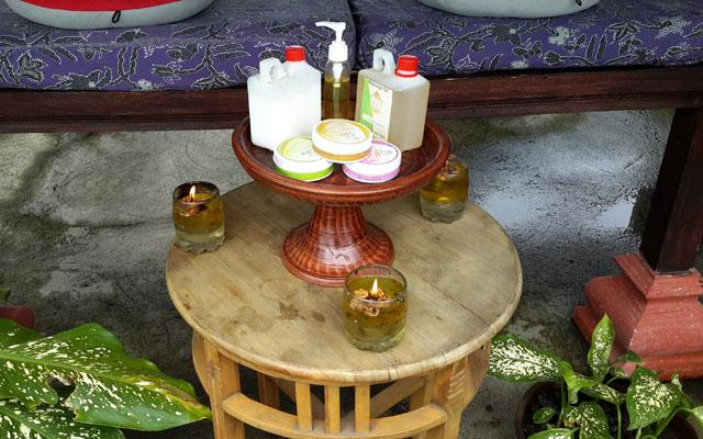 Ubud Spa - Pondok Frog : Massage Oils