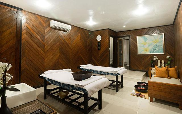 Pure Spa Aisis Villa Treatment Area
