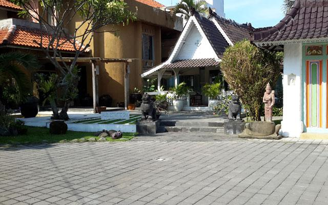 Sanur Spa - Puri Esthetic Spa : Parking Area