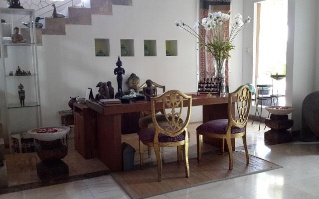 Sanur Spa - Puri Esthetic Spa : Reception