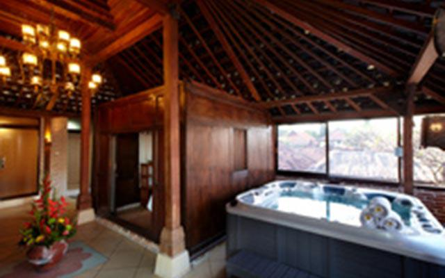 Spa Bali - Putu Bali Spa : bath tub